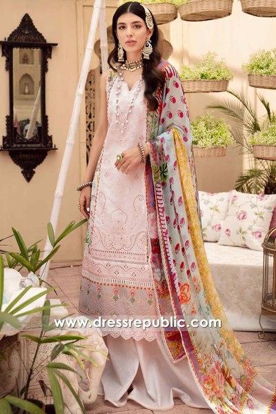 DRP2635 Noor Eid Chikankari New York, New Jersey, Texas, Florida, Virginia, USA