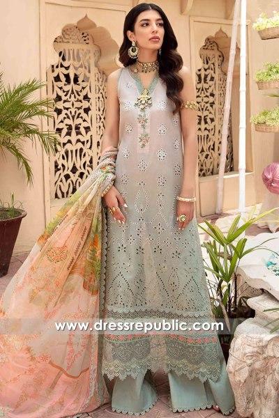 DRP2639 Noor Eid Chikankari Saudi Arabia, UAE, Qatar, Kuwait, Bahrain, Oman