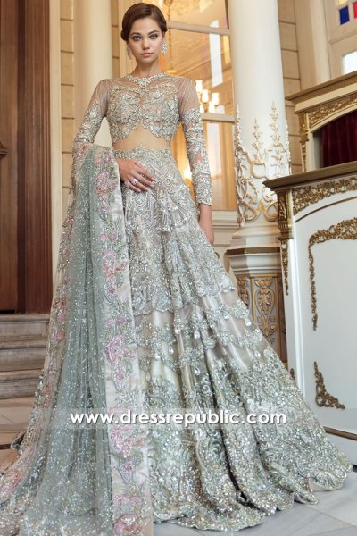 DR16122 Pakistani Designer Bridal Dresses 2021/2022 Collection USA, Canada, UK