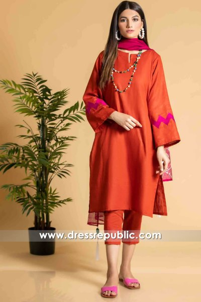DR16134 Pakistani Casual Dress Designs 2021 Online Shopping in USA, Canada