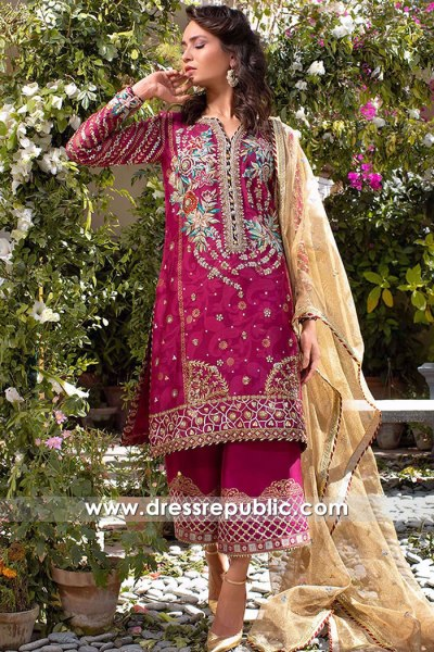 DR16164 Pakistani Designer Dresses 2022 Buy Online New Zealand Shopping