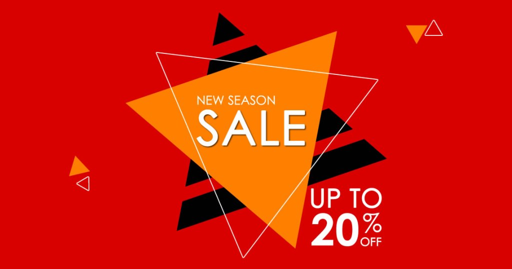 New Season Sale Fall/Winter 2021