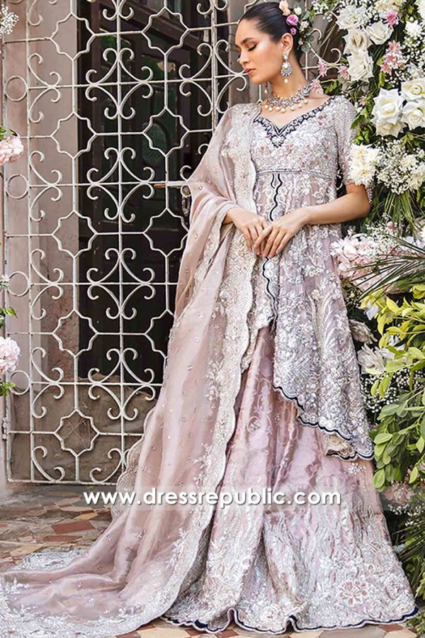 DR16182 Mauve Bridal Dress by Dress Republic UK, USA, Canada, Australia Online