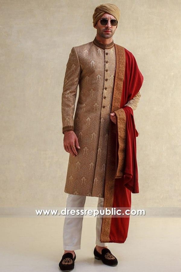 DRM5606 Dulha Sherwani 2021 / 2022 Fall Winter Collection USA, Canada, UK
