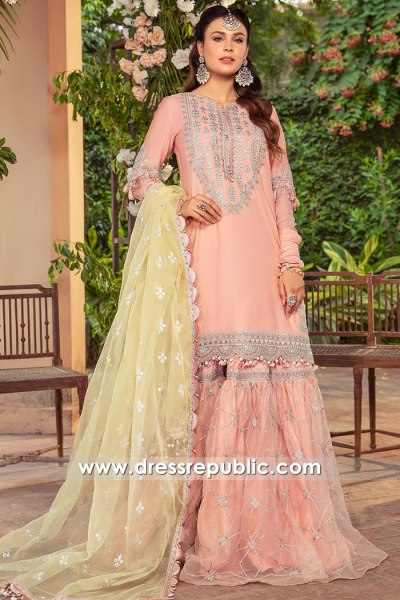 DRP2724 Maria B Sateen 2021 Stitched Lawn Shops Saudi Arabia, Qatar, UAE
