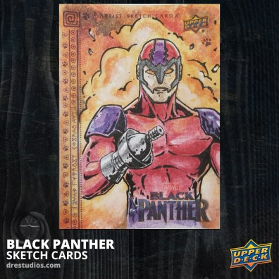 andrei-ausch-black-panther-sketch-card-Ulysses-Klaw