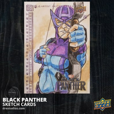 andrei-ausch-black-panther-sketch-card-hawkeye