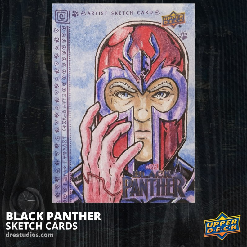 andrei-ausch-black-panther-sketch-card-magneto