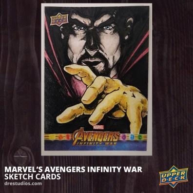 2018-upper-deck-avengers-infinity-war-sketch-card-andrei-ausch-doctor-strange