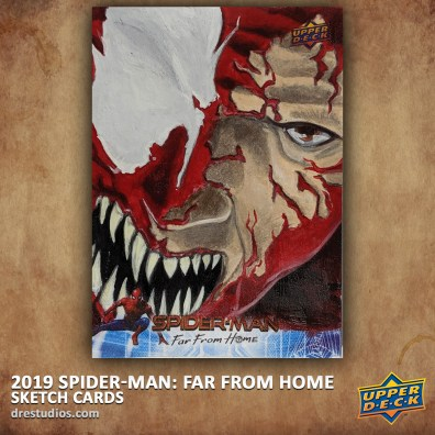 upper-deck-spider-man-far-from-home-trading-sketch-card-andrei-ausch-carnage