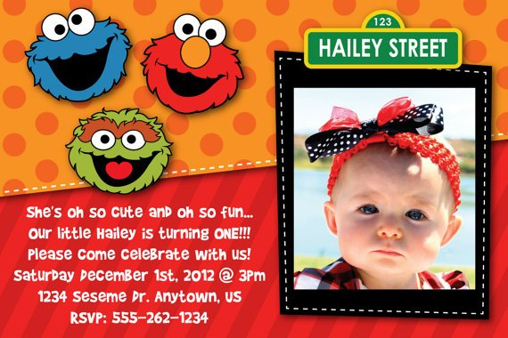 Free Printable Elmo Sesame Street Birthday Party