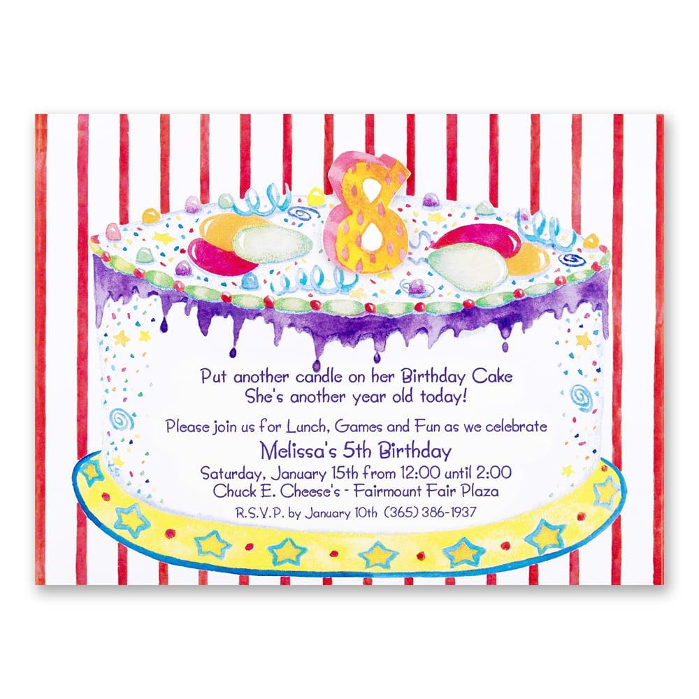 girl 5th birthday party invitation wording Cogimbous