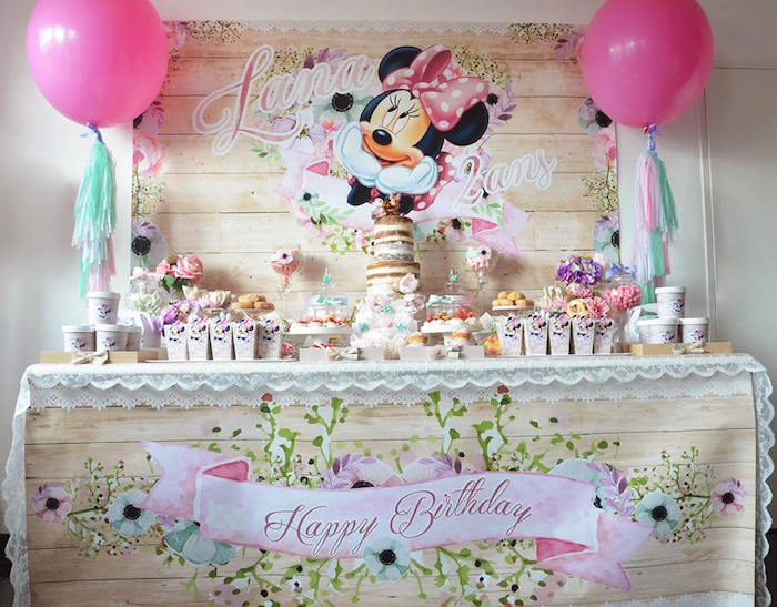 free minnie mouse 2nd birthday