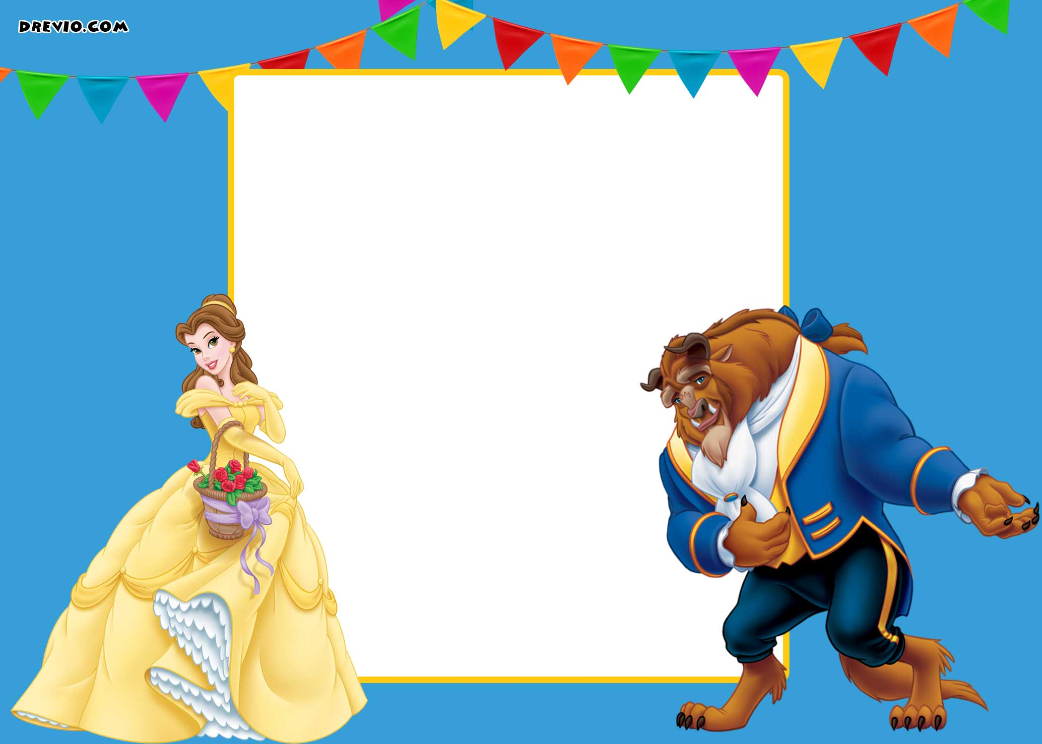 invitation princess birthday party