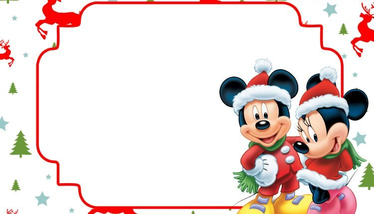 FREE Printable Christmas Invitation Template All Characters FREE Invitation Templates Drevio