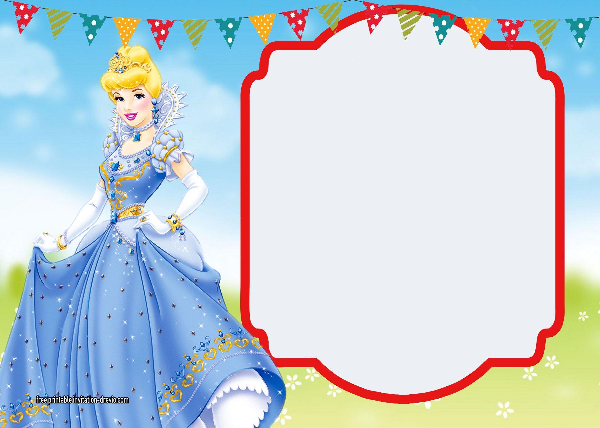 Free Printable Snow White Invitations Complete Edition