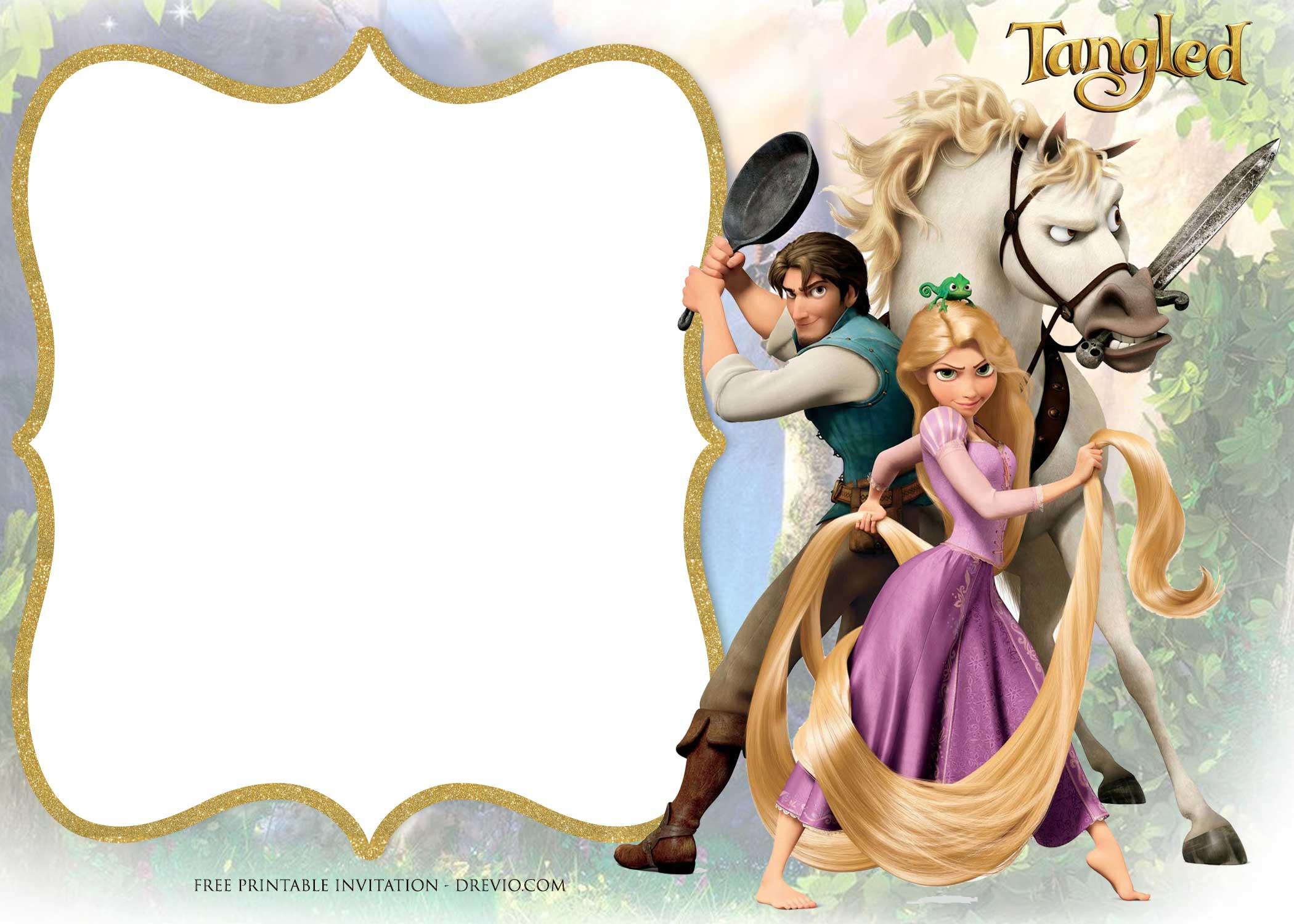 free printable princess rapunzel
