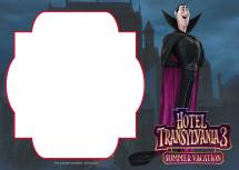 3 Hotel Transylvania Invitations
