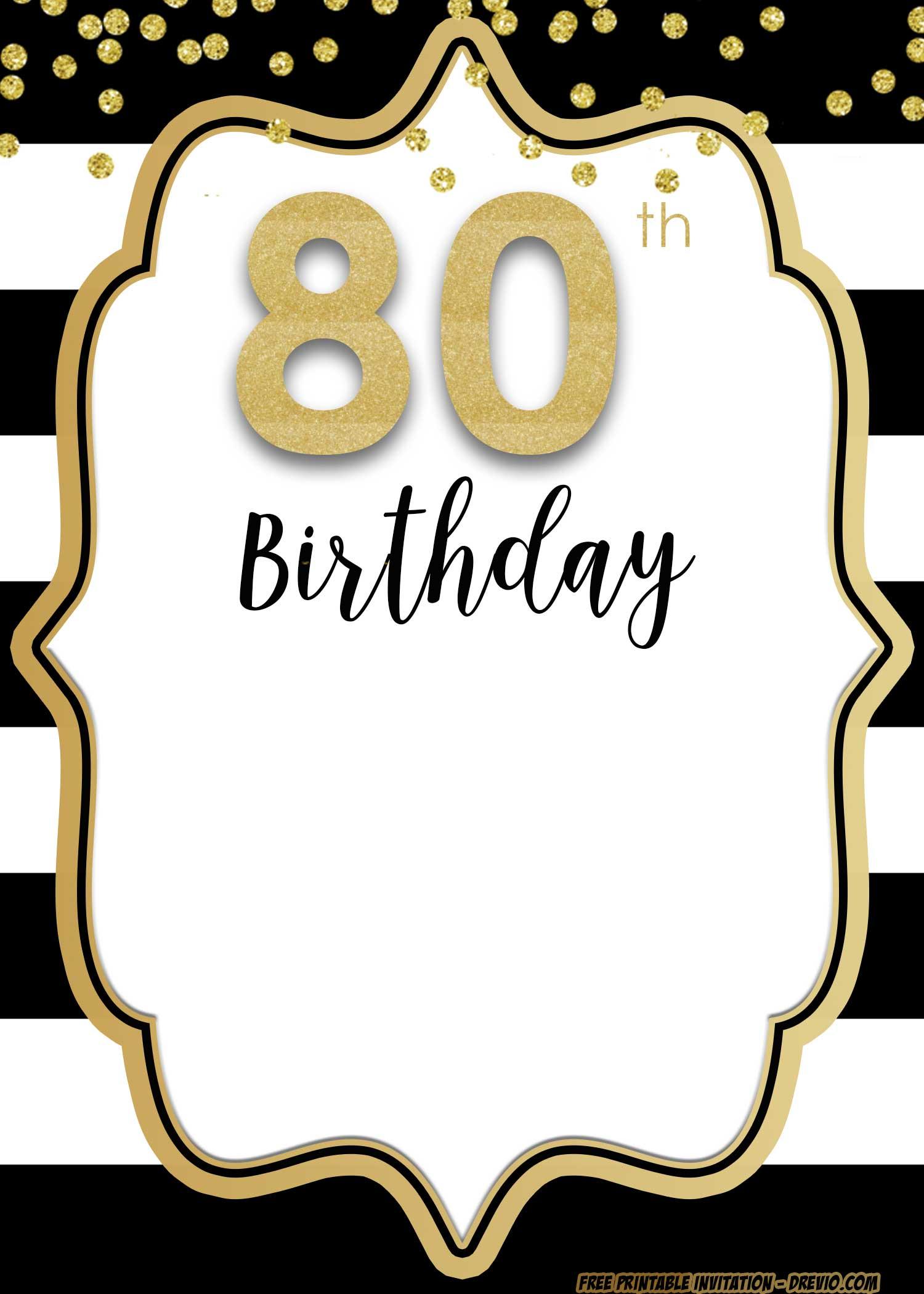 adult birthday invitations template