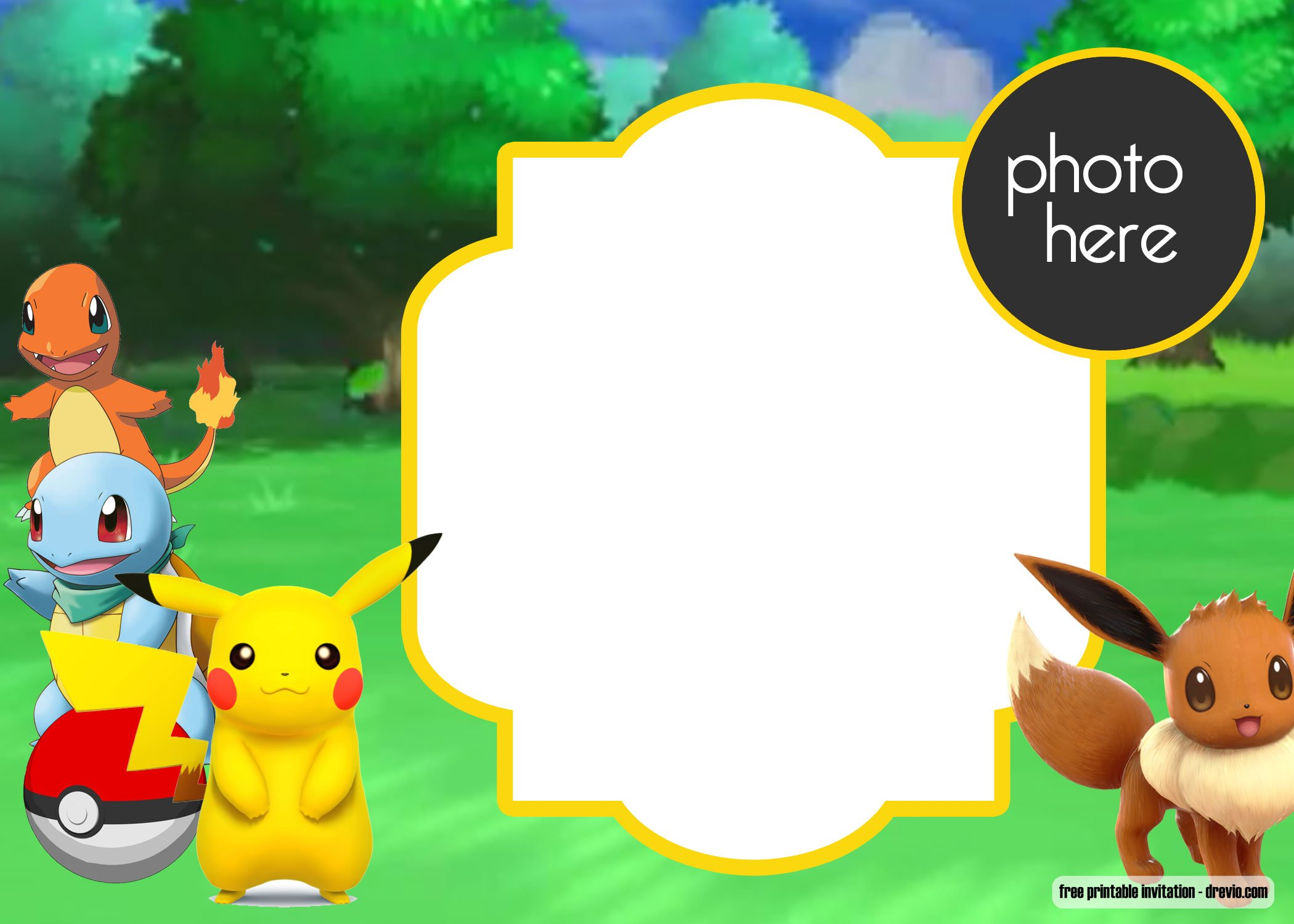 free printable pokemon birthday