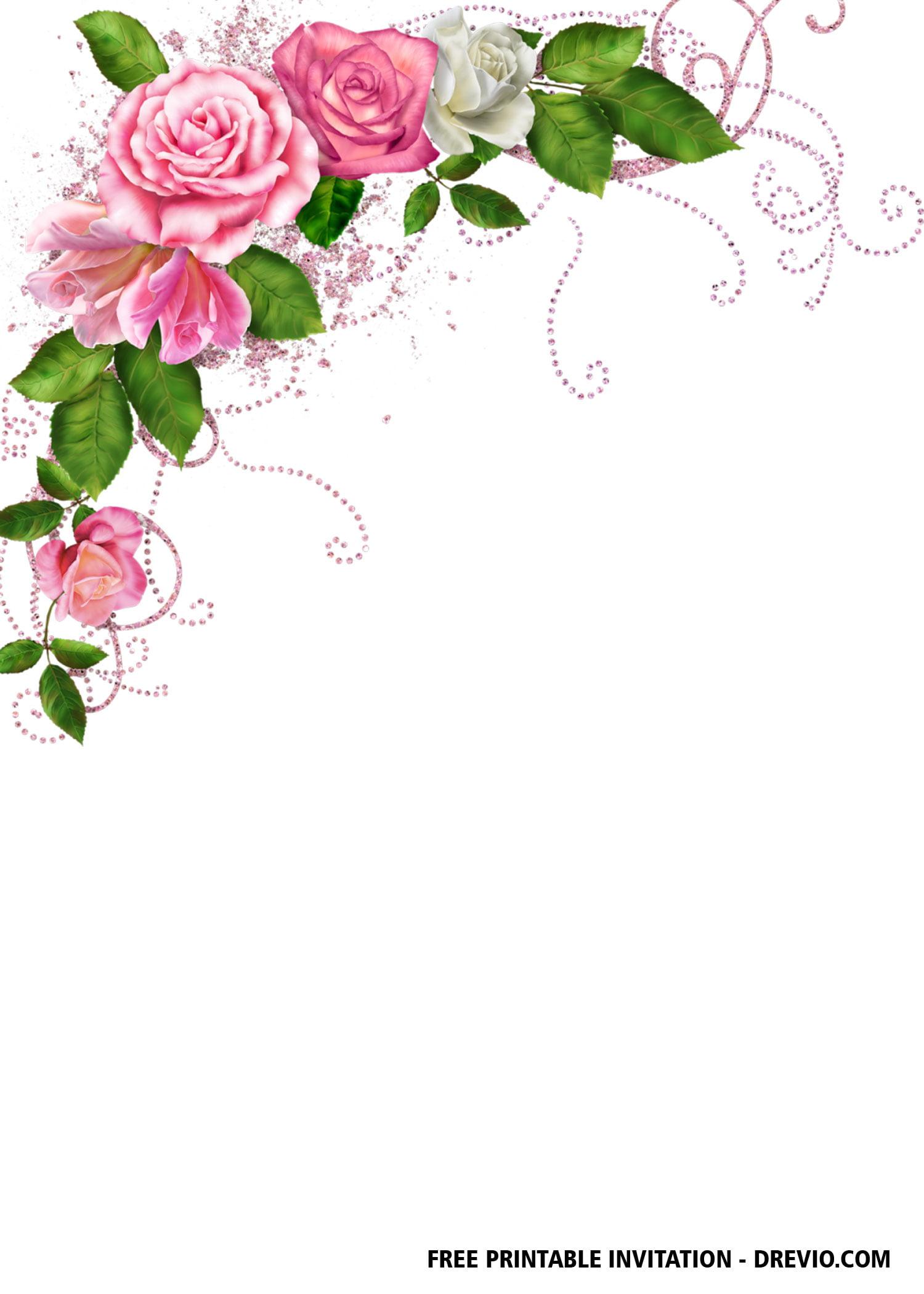 Free Printable Bridal Shower Invitation Templates Free