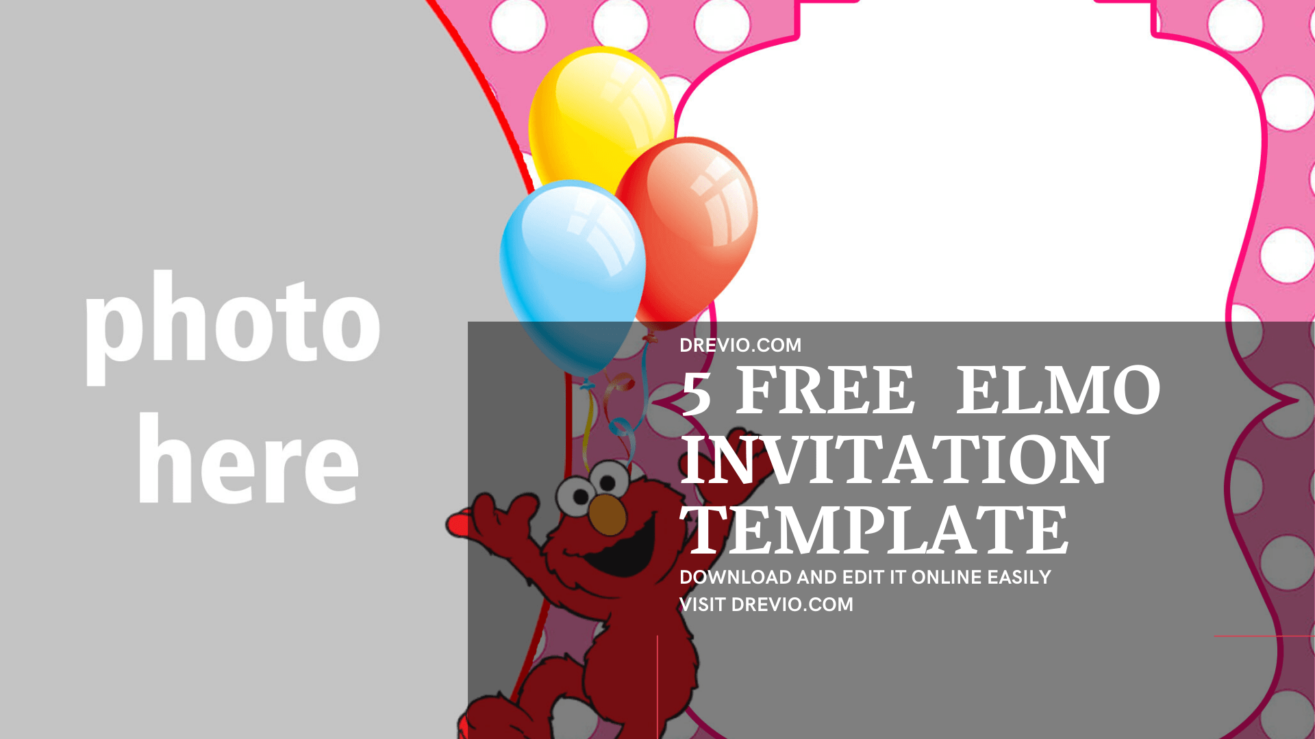 Free Printable Elmo Birthday Invitation Templatesfree