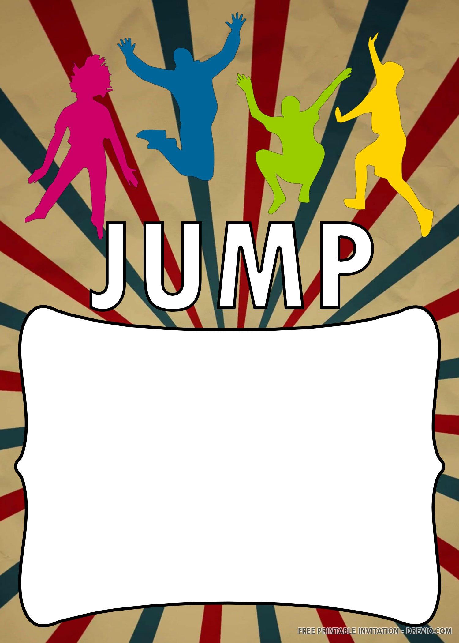 jump party invite trampoline 2