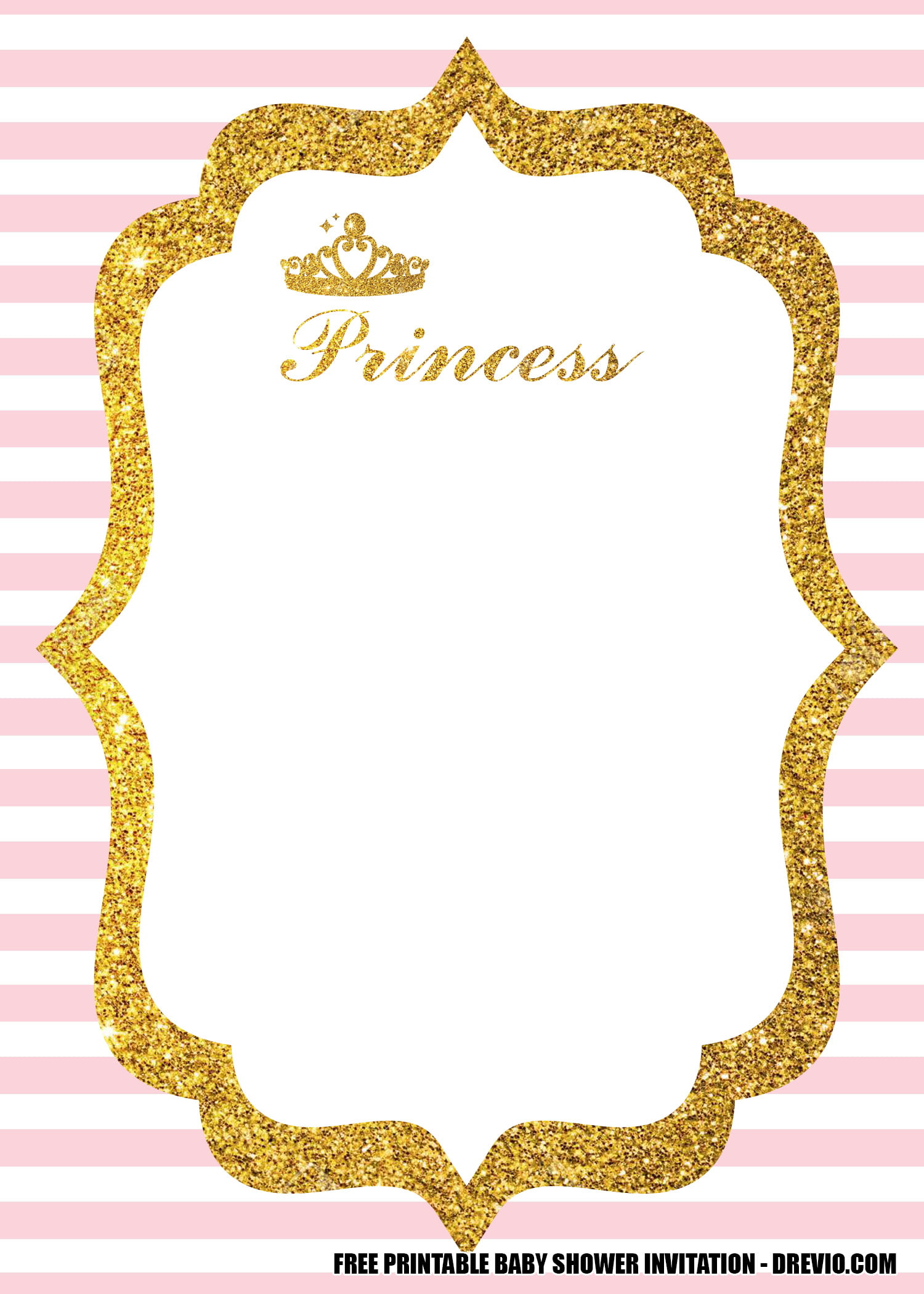 free pink princess themed party