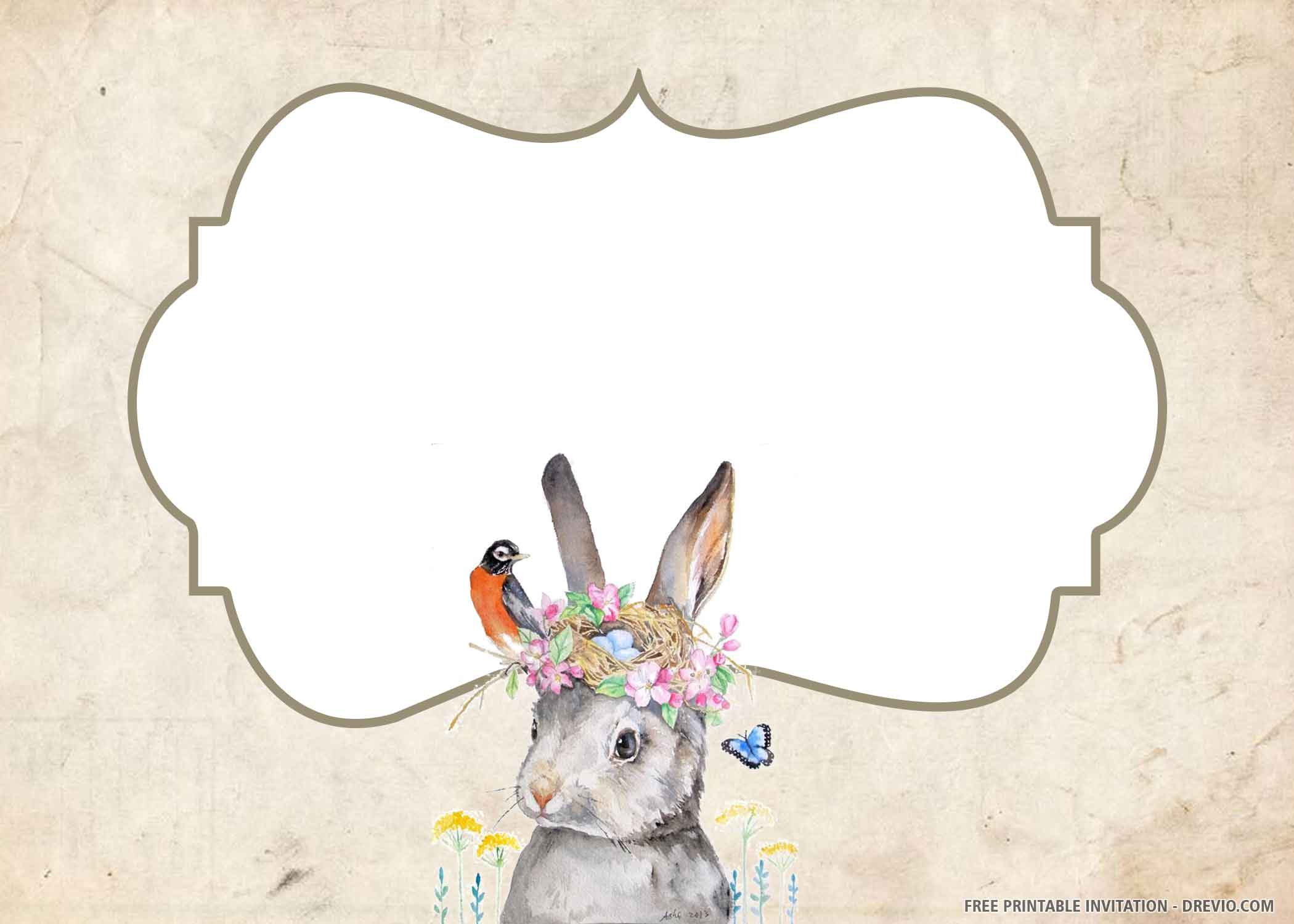free printable peter rabbit birthday