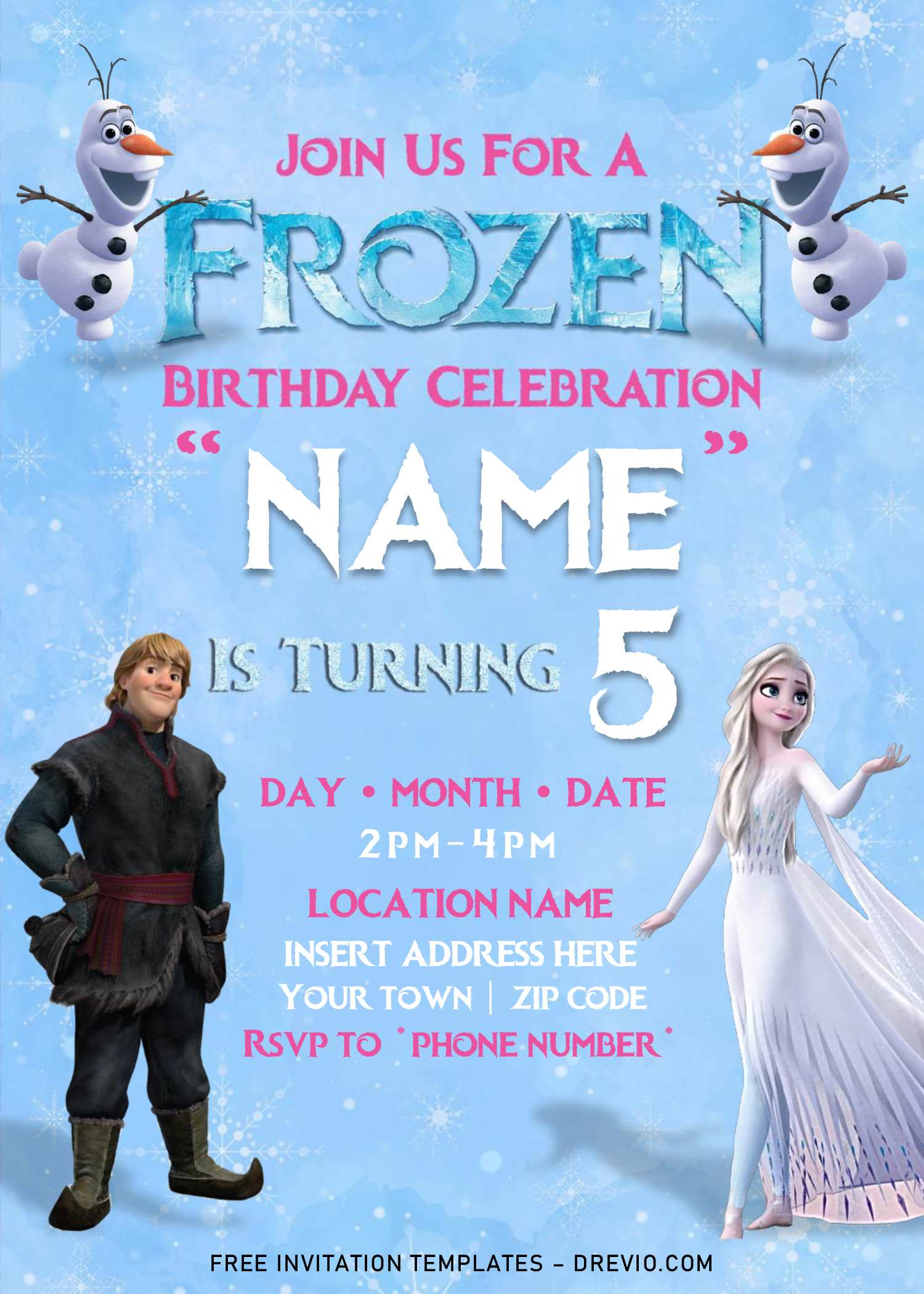 birthday invitation templates for word