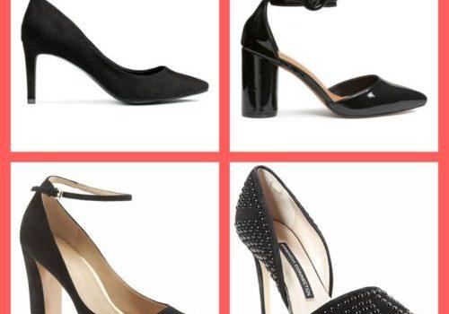 Drew & Alice Sassy Black Heels