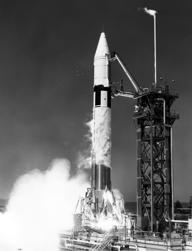 The Launch Of Atlas Centaur 5 Drew Ex Machina