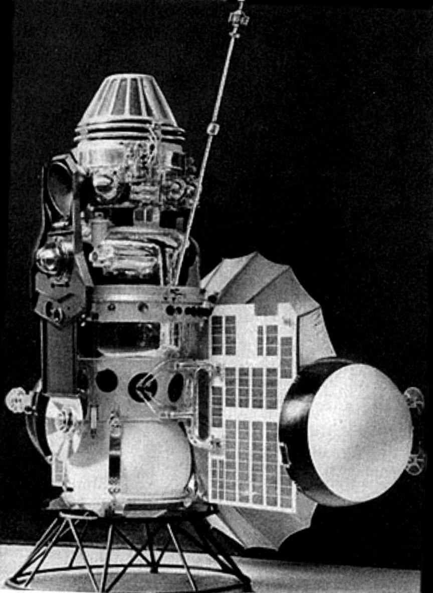 Venera 4: Probing the Atmosphere of Venus   Drew Ex Machina