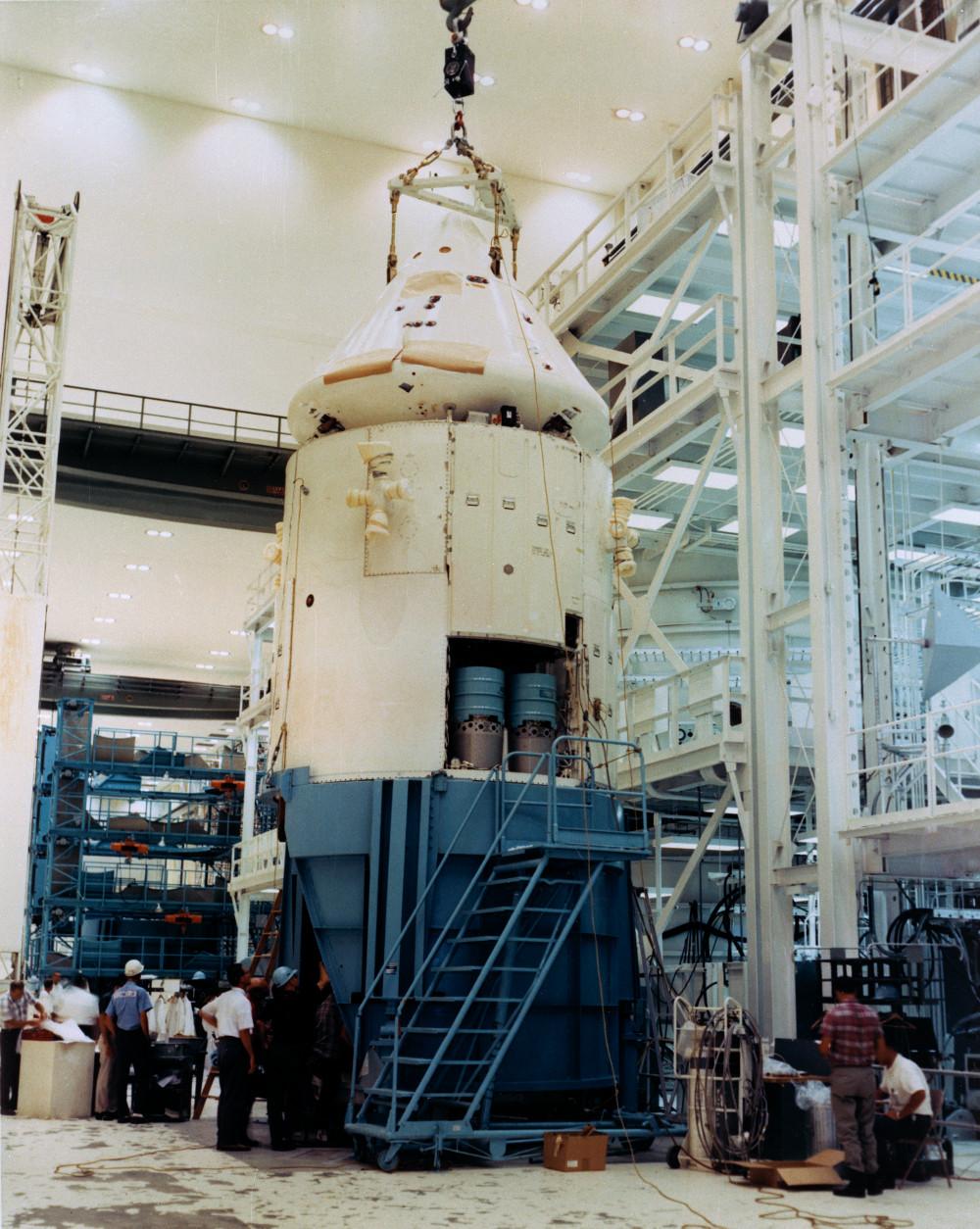 Saturn IB AS 202 - 25.08.1966 S66-50641_DXM