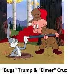 Bugs Trump and Elmer Cruz.