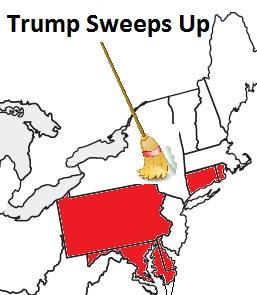 Trump Sweeps Up