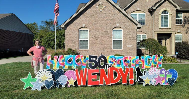 Wendy's 50th Birthday Dinner