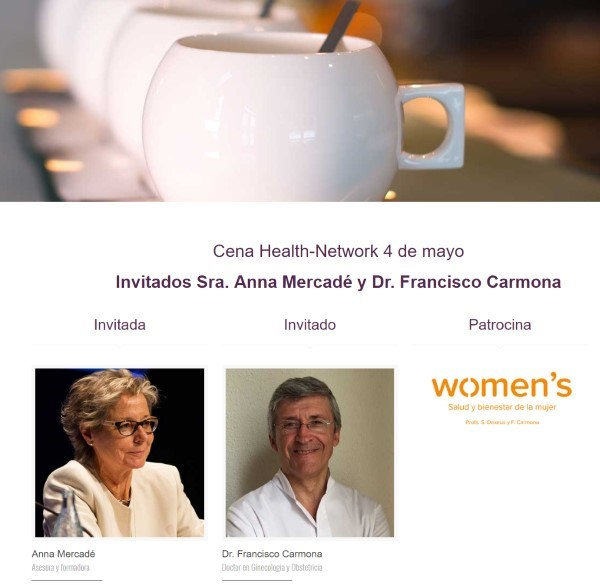 Cena Health Network patrocinada por Womens