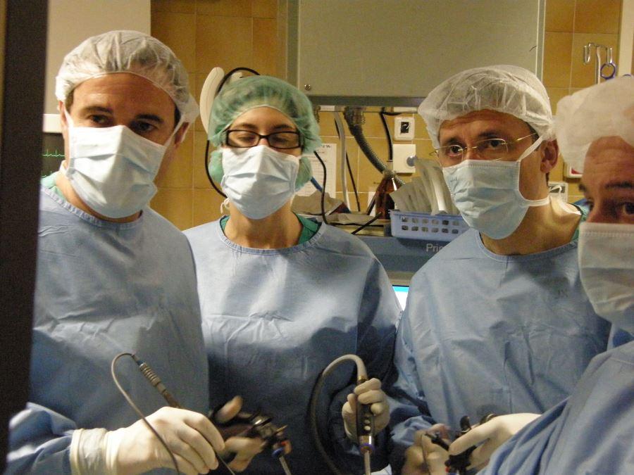 dolor pélvico después de la laparoscopia para endometriosis