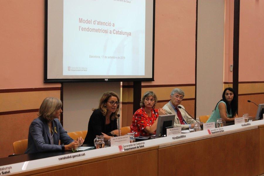 Protocolo endometriosis en Cataluña