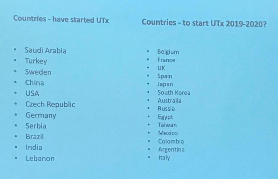 Trasplante de útero. Países que se ha realizado y donde se hará en 2019-2020. Dr. Branstrom de Goteborg.
