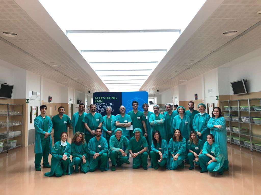 Dr. Francisco Carmona VI Curso de cirugía ginecológica laparoscópica
