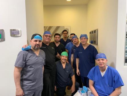 Primer trasplante de útero en México. Dr. Francisco Carmona 03