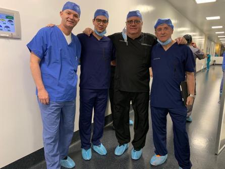 Primer trasplante de útero en México. Dr. Francisco Carmona 05
