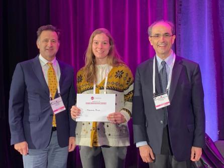 SEUD 2019. Dr Francisco Carmona. Dra. Mariona Rius Premio a la mejor comunicación