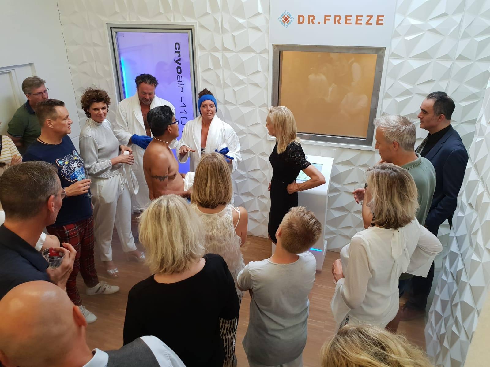 Opening Dr.Freeze cryotherapie in Arnhem