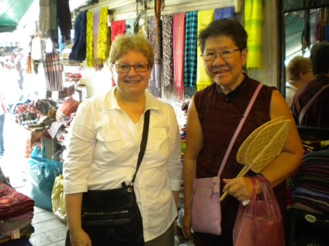 Exploring the market with Dr. Jarutat