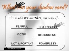 Unity Spiritual Center's Shadow Card