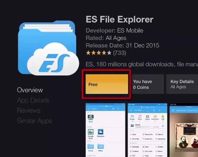 image result for es file explorer