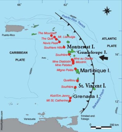 LESSER ANTILLES - Tsunamis of Volcanic Origin in the ...